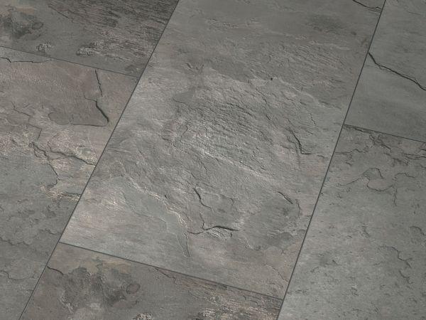 Glanzlaminat Jangal 5100 Glanz Grey Slate (810x400) Stone Line 8mm Fliese