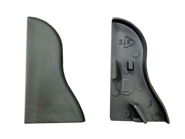 Equipped 1219 Endkappe Silbergrau 40mm