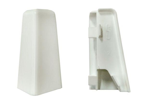 Equipped 1206 Außenecke Weiß 58mm