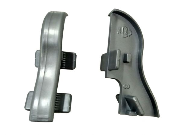 Equipped 1220 Verbinder Silbergrau 40mm