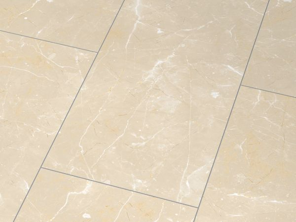Glanzlaminat Jangal 2911 Glanz Botticino Classico light (810x400) Stone Line 8mm Fliese