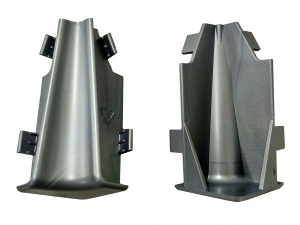 Equipped 1221 Innenecke Silbergrau 58mm